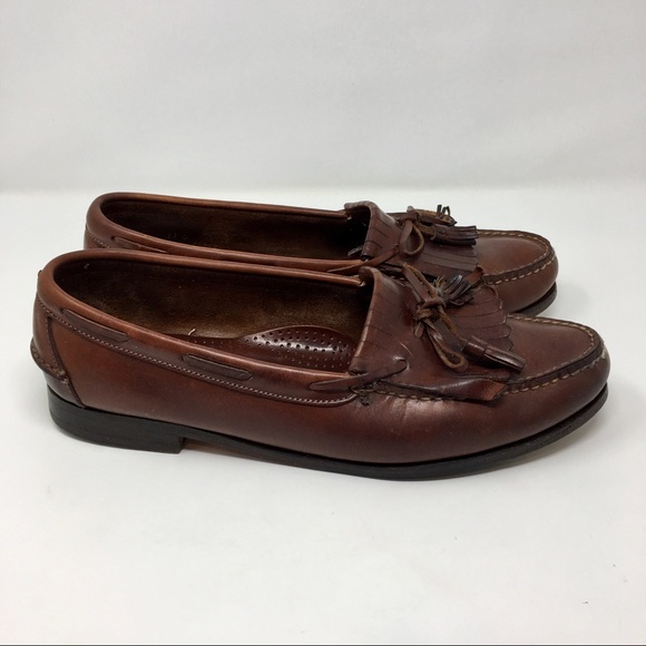 0e252cefa06 Footjoy shoes vintage mens hand stitched foot joy loafers jpg 580x580 Mens  footjoy loafers